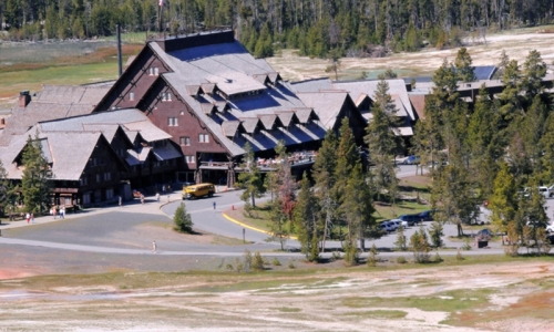 Old Faithful Inn Yellowstone Lodging