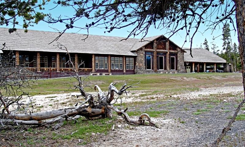 Old Faithful Lodge Yellowstone