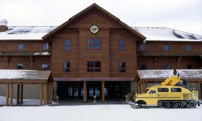 Old Faithful Snow Lodge Yellowstone