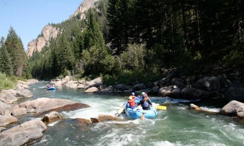 Gallatin Canyon In Montana Alltrips
