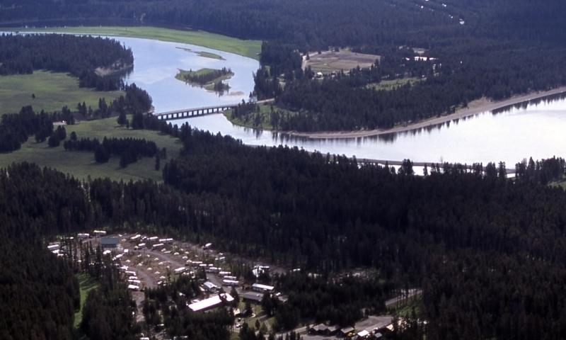 Fishing Bridge RV Park Yellowstone