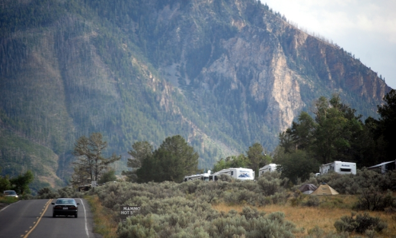 Mammoth Hot Springs Campground