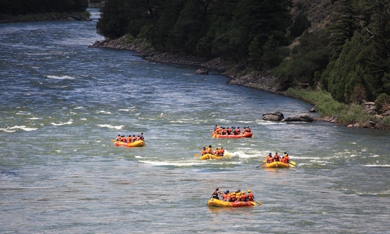 Bozeman Rafting on the Yellowstone River