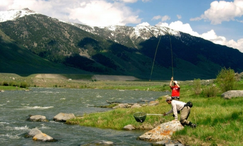 Fishing Madison River Montana