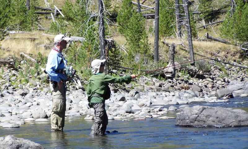 Fly Fishing the Lamar River in Yellowstone