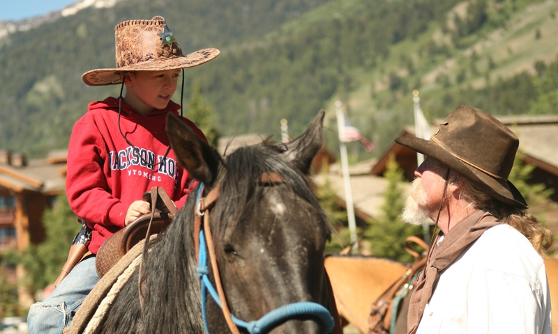 Yellowstone Horseback Riding