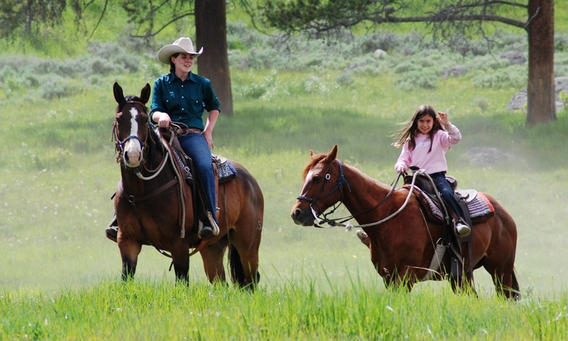 Horseback Riding in Yellowstone