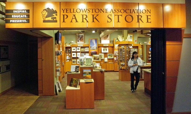 Canyon Village  Yellowstone Shopping Gifts