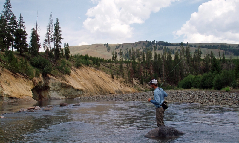 Yellowstone national park summer vacations activities for Yellowstone lake fishing