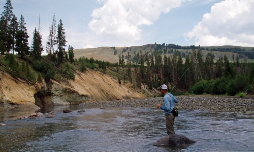 Lamar River Yellowstone Fishing