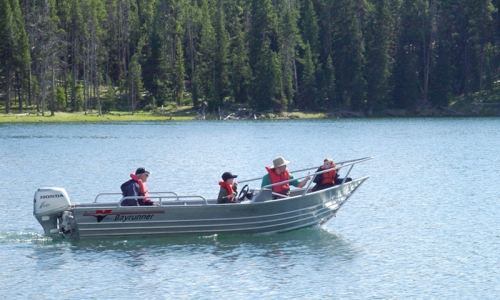 Yellowstone Boating Fishing Tour Sightseeing Boat Rentals