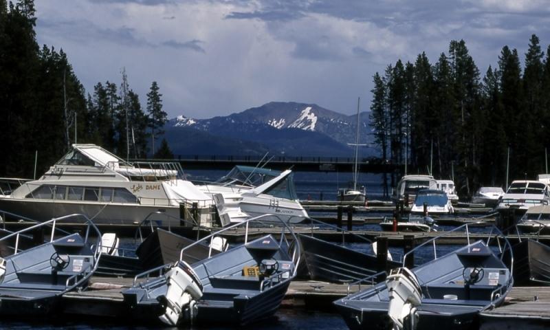 Yellowstone Boating Bridge Bay
