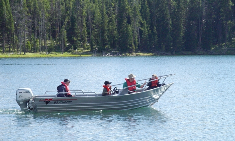 Boat Rental in Yellowstone