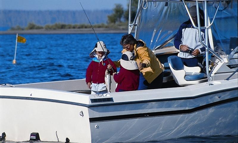 Yellowstone Guided Fishing Boat Tour