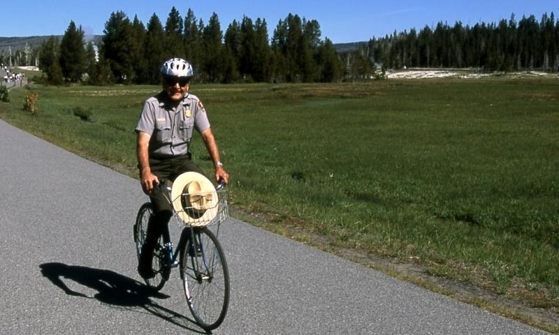 Biking Yellowstone