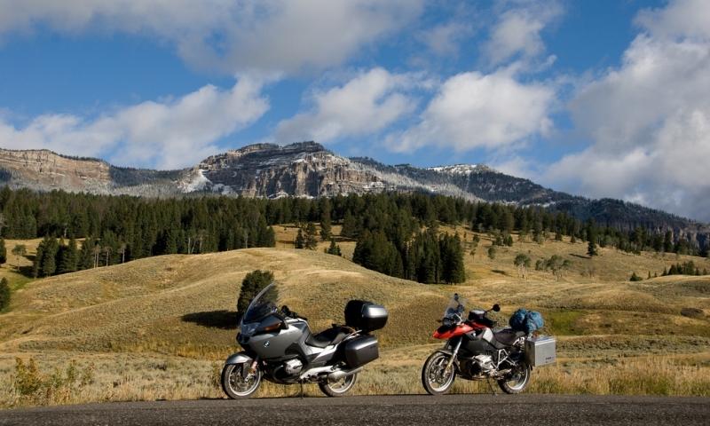 Yellowstone Motorcycle