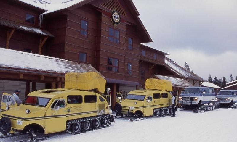 Yellowstone Snowcoach Tours