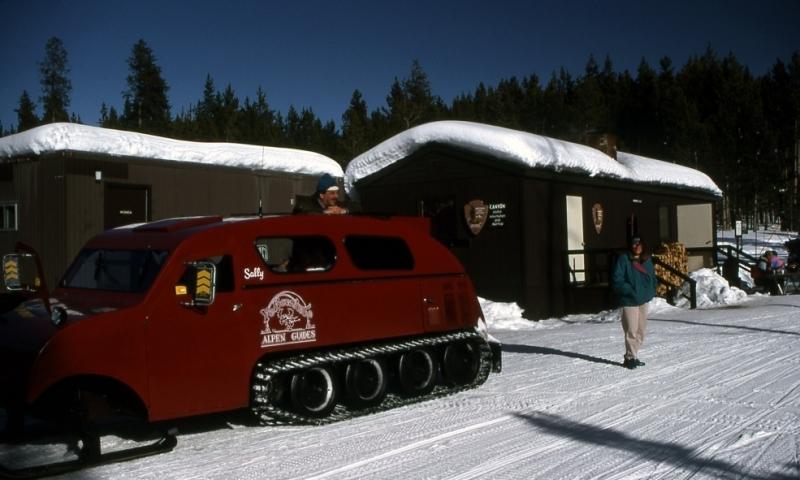 Yellowstone National Park Snowcoach