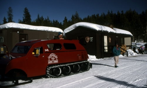 Yellowstone National Park Snowcoach